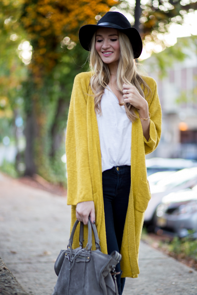 ChicWish Mustard Cardigan | Blonde Expeditions