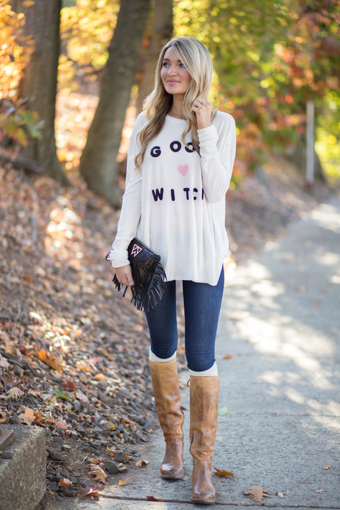 Good Witch Halloween Look - Blonde Expeditions