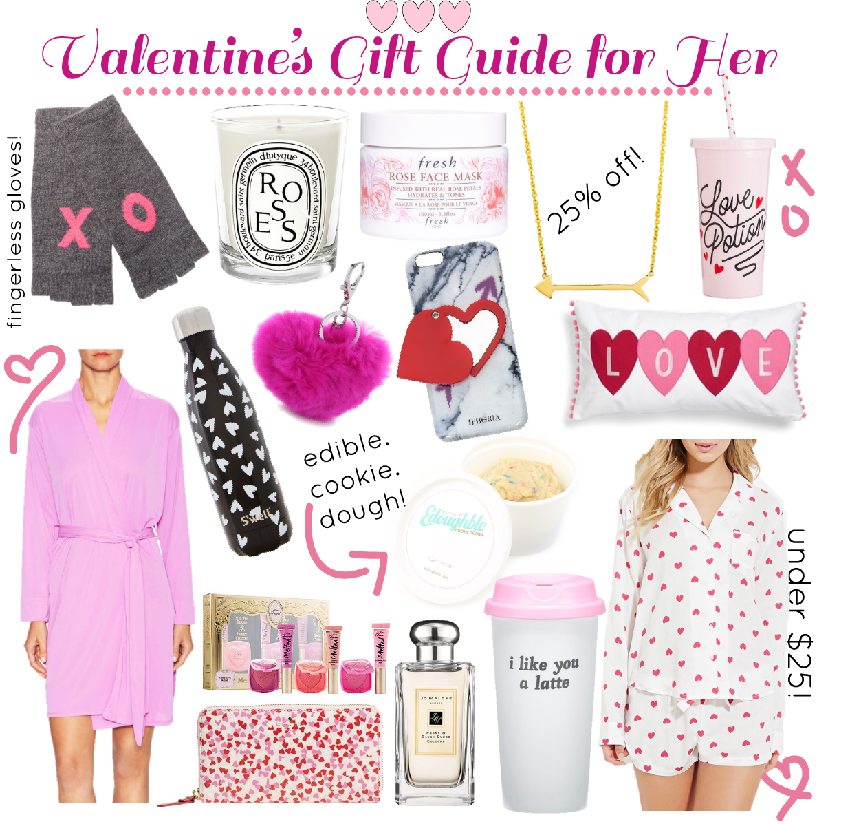Valentine 39 s day gift guide for her blonde expeditions for Gifts for her valentines day