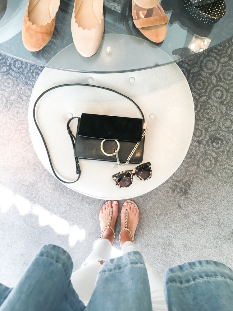 Black Chloe Faye Purse