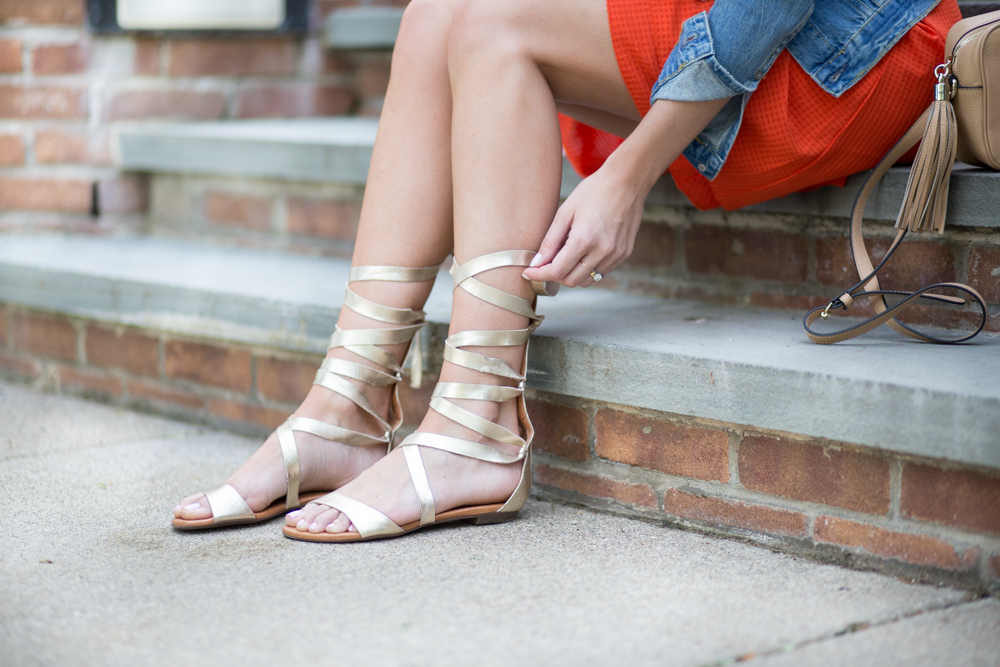 Carrano Lace Up Sandals
