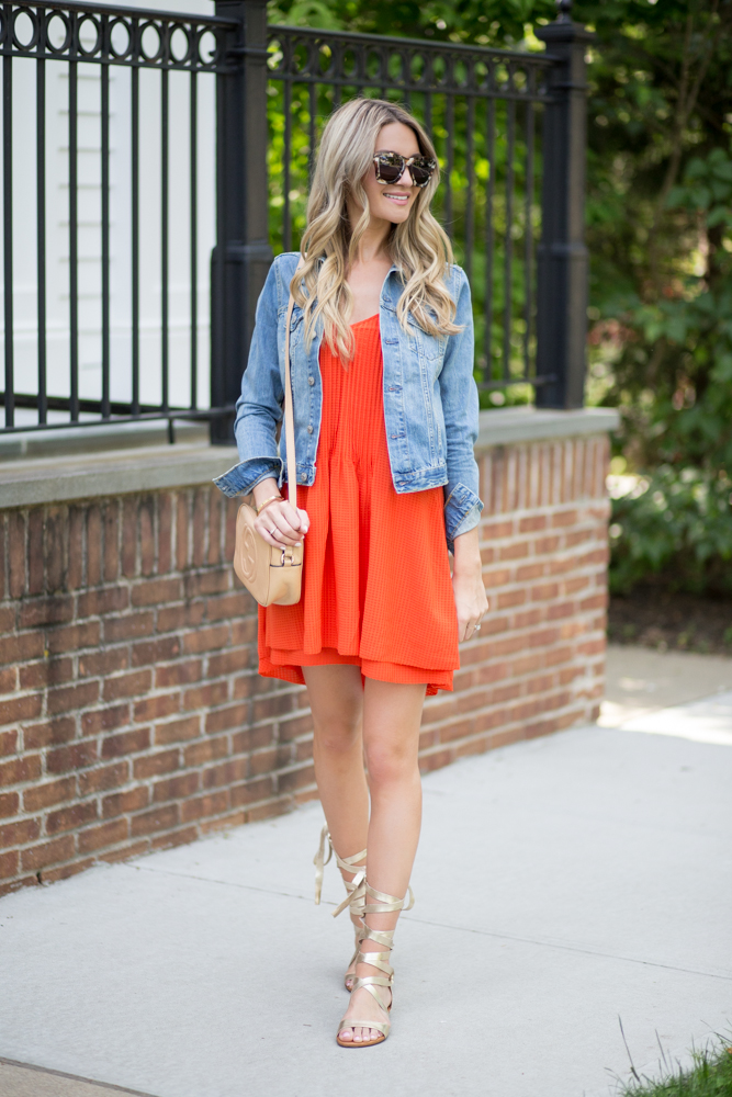 Sanctuary Orange Dress
