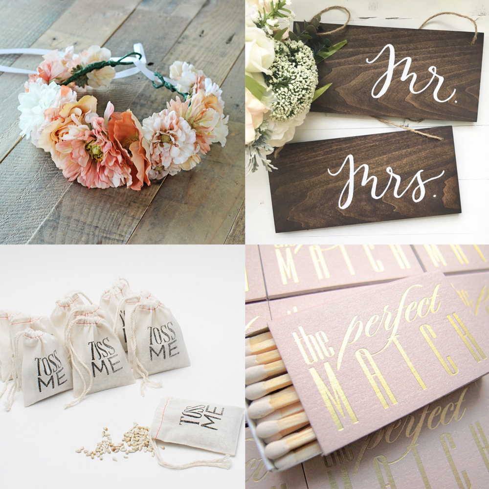 Etsy Wedding Finds