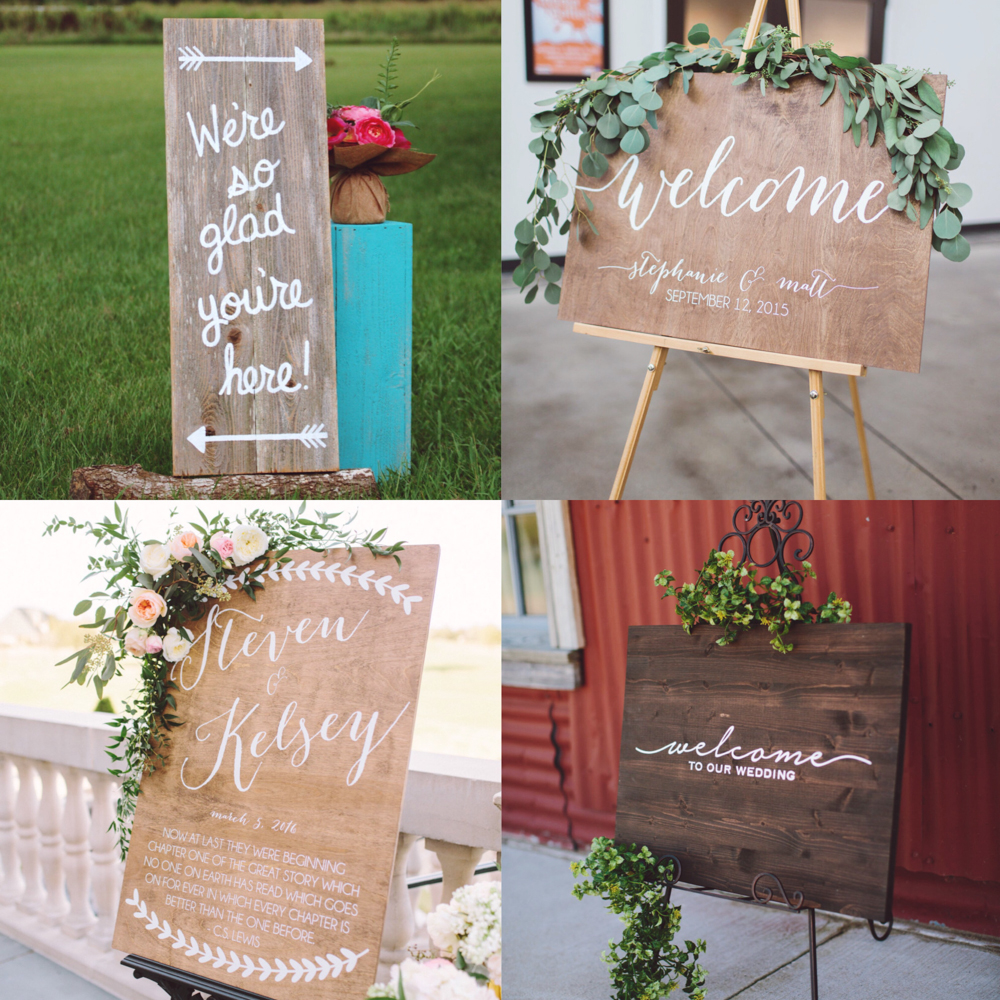 Etsy Wedding Sign