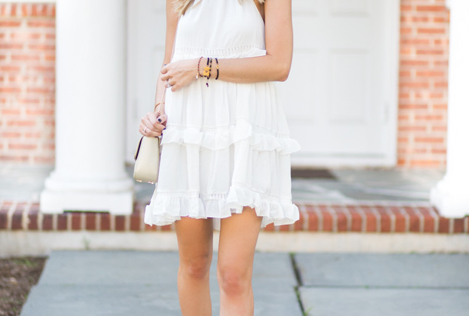 ChicWish White Dress