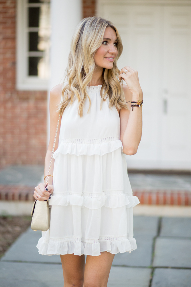 Cute Summer Outfit White Dress