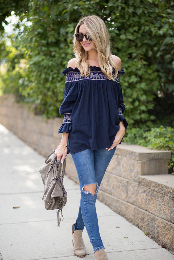 Off The Shoulder Top For Fall