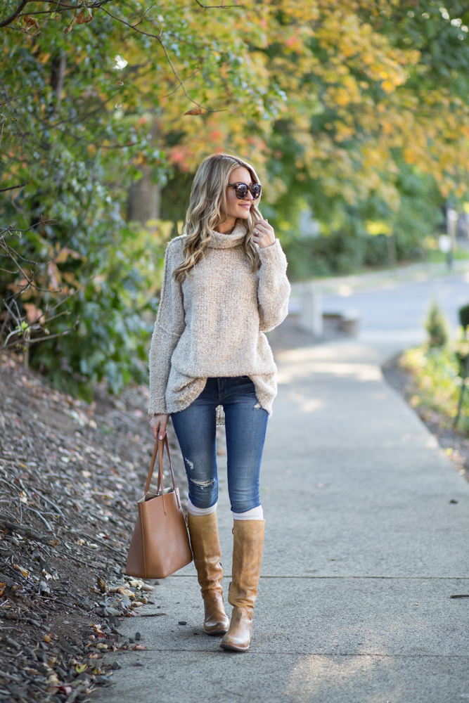 Free People Turtleneck Sweater