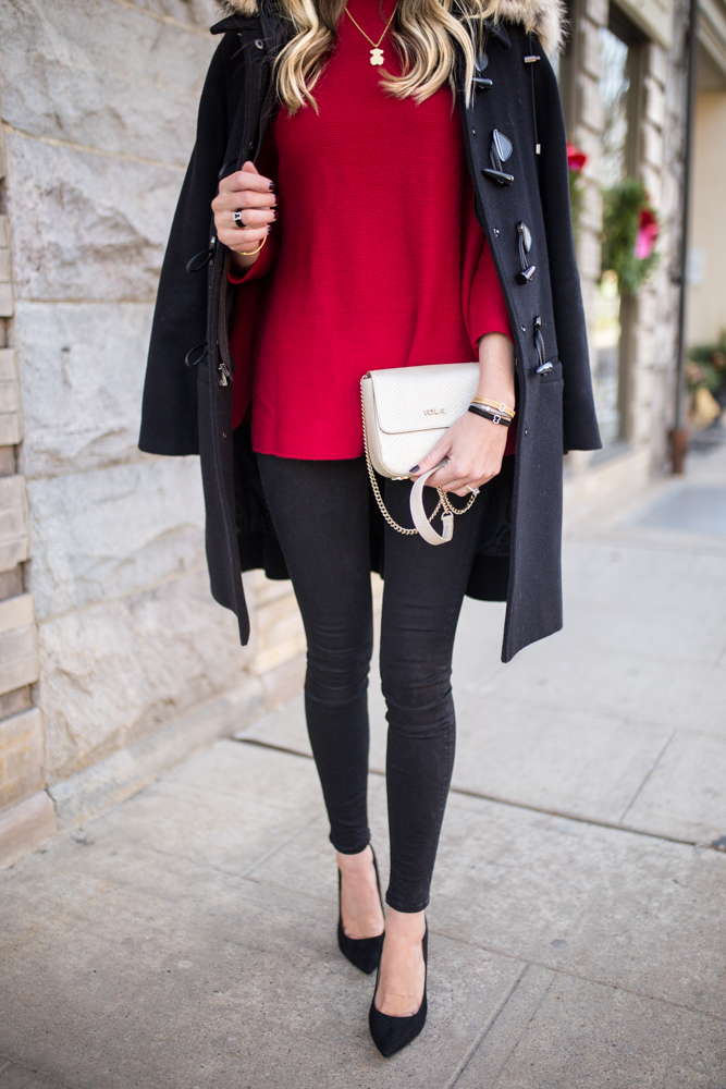 Winter Red Outfit
