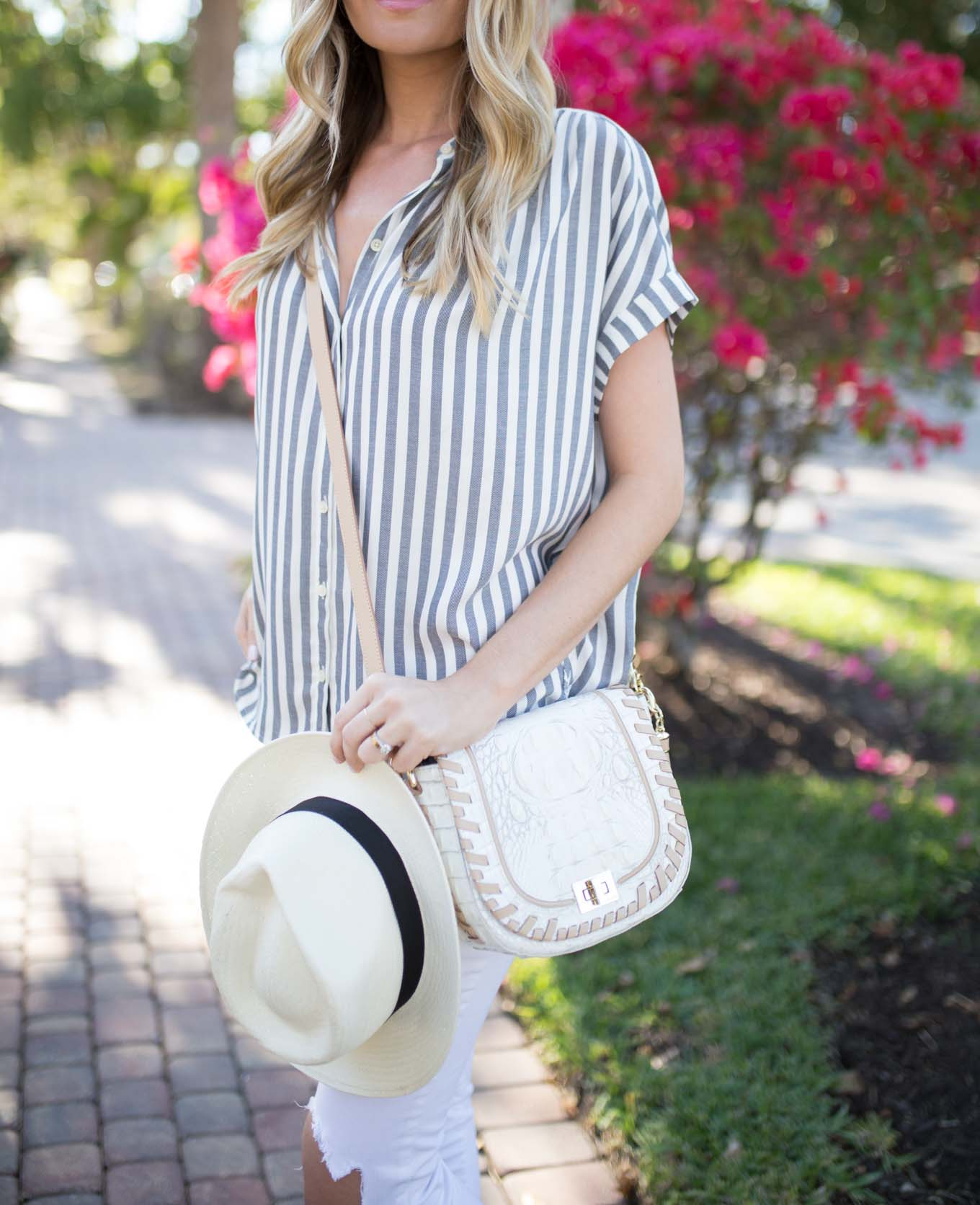 Stripe Button Down