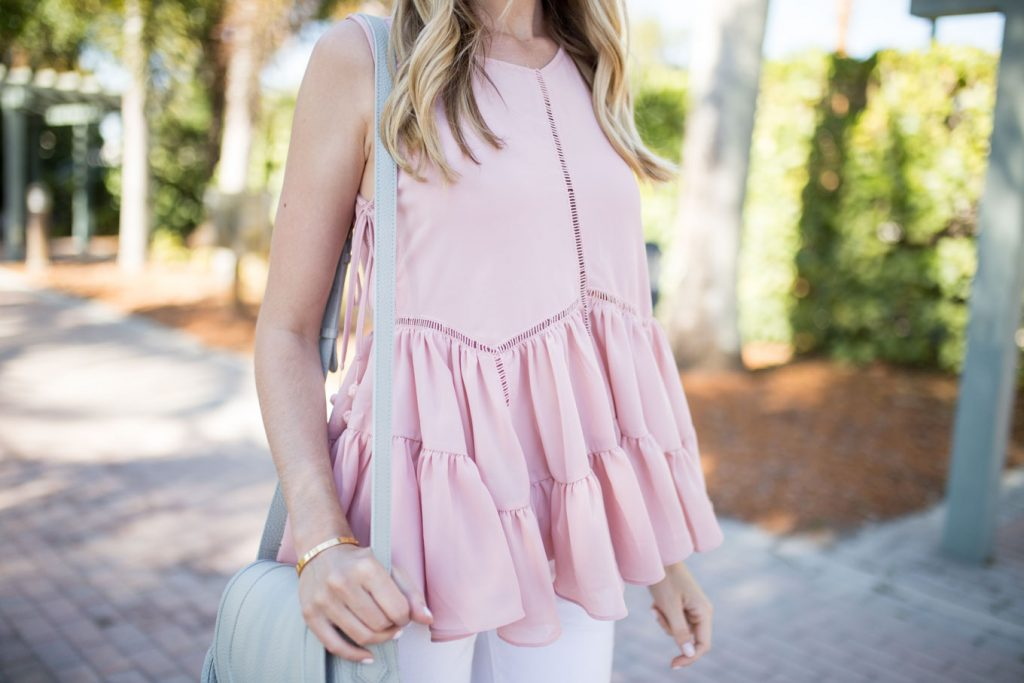 Romeo and Juliet Peplum Top
