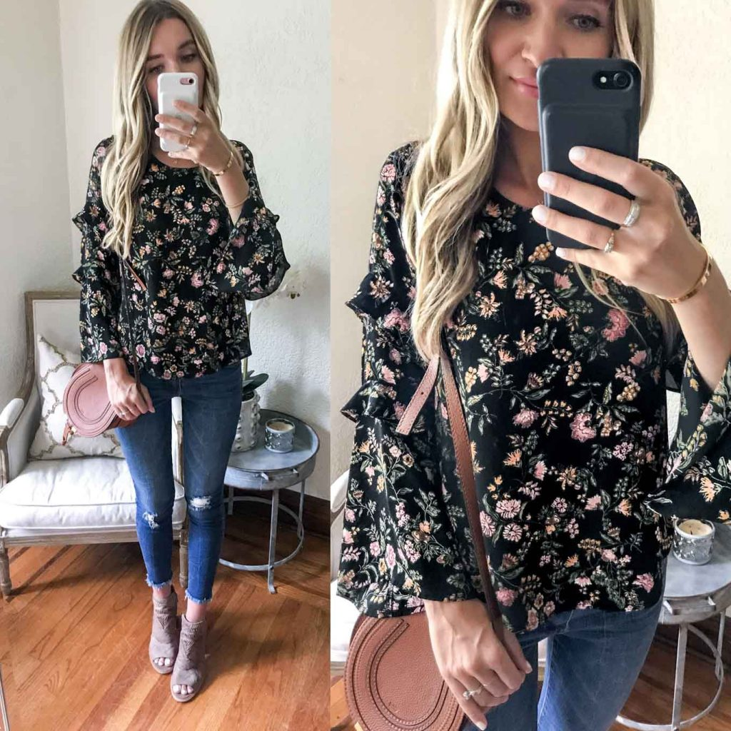Lush Floral Top