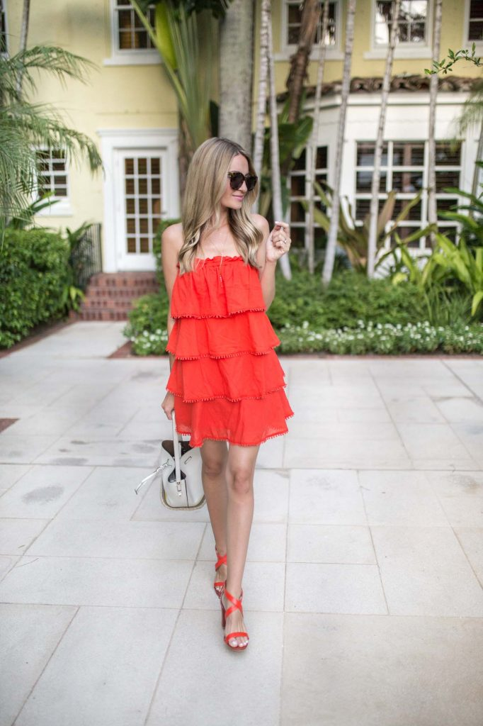 Red Carter Coverup