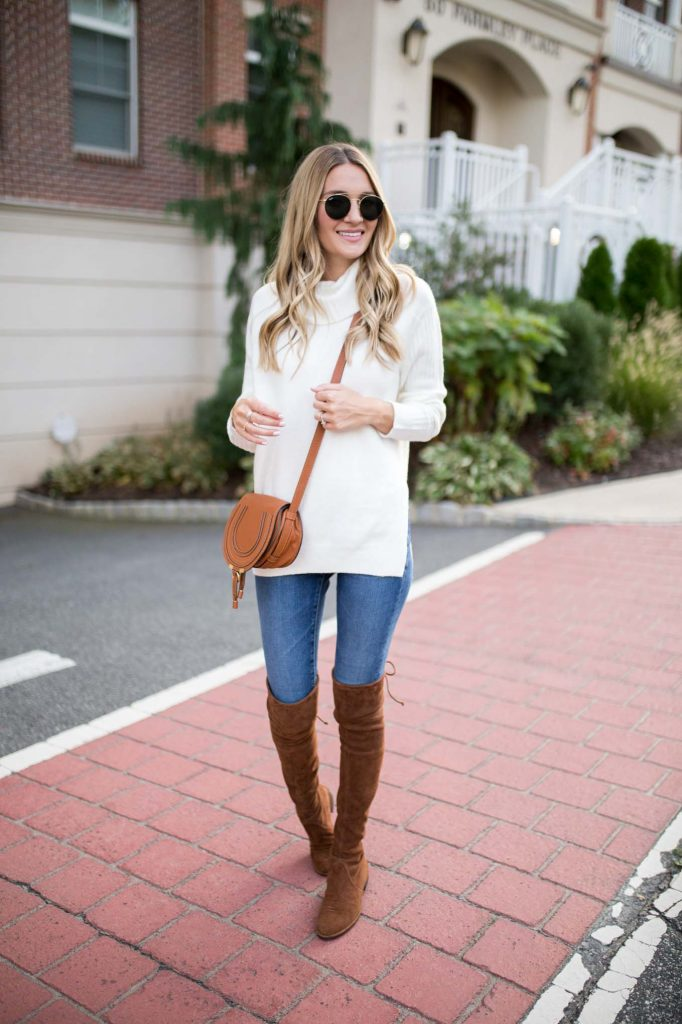 White fall outfit