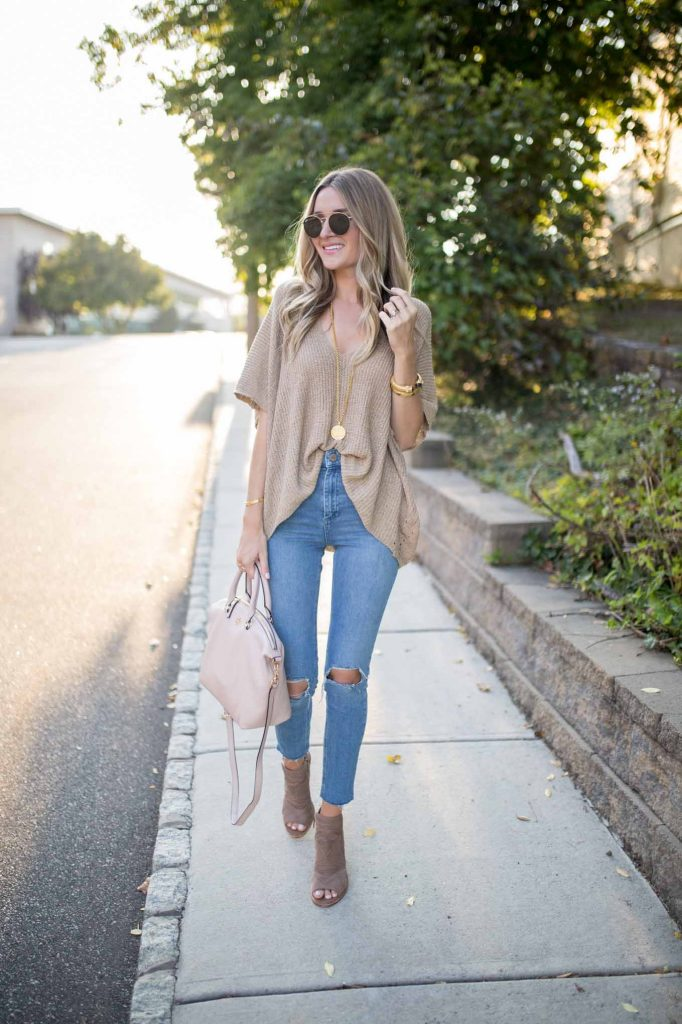 Neutral Everyday Sweater
