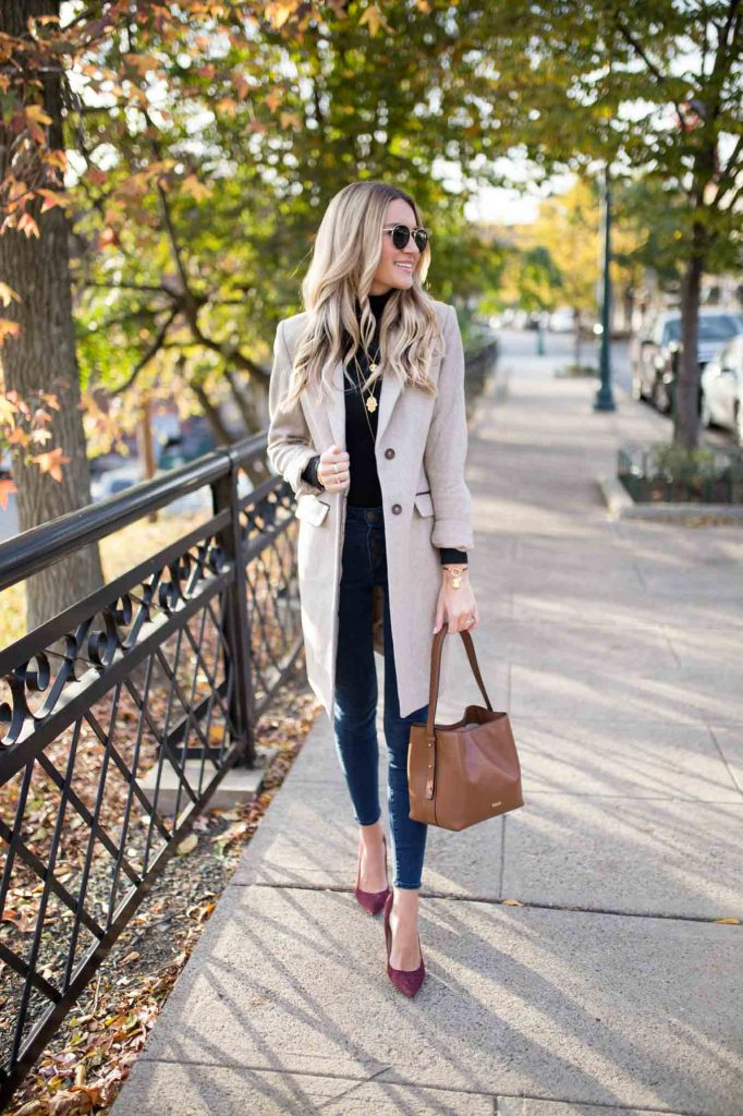 Neutral Thanksgiving Outfit