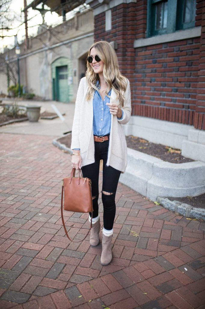 Casual Winter Outfit Boots
