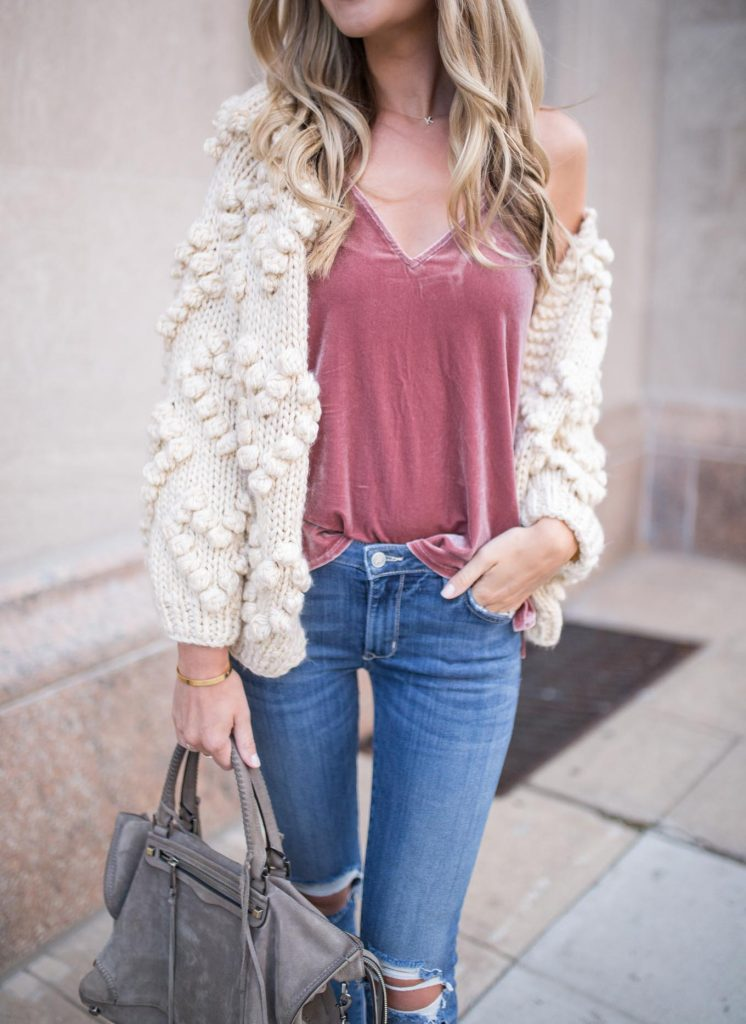 Oversized Heart Cardigan