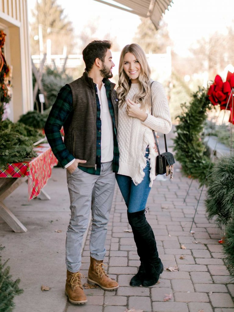 Casual Holiday Couple Style