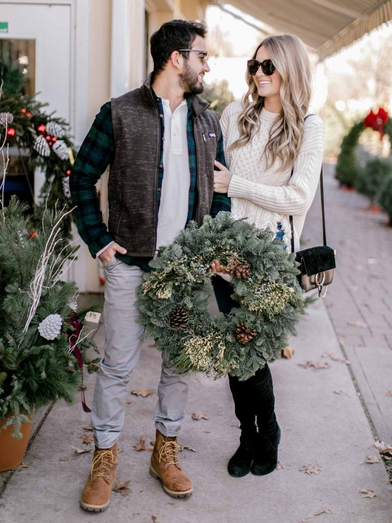 Christmas tree farm outfits