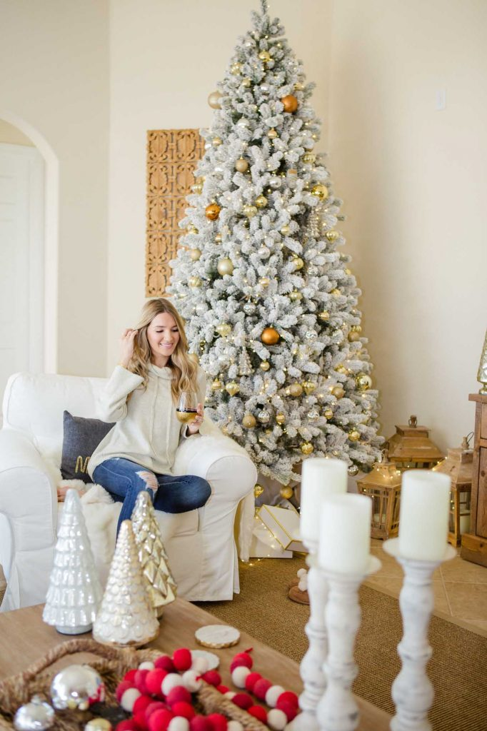 cozy neutral holiday