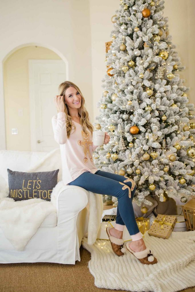 Christmas loungewear decor