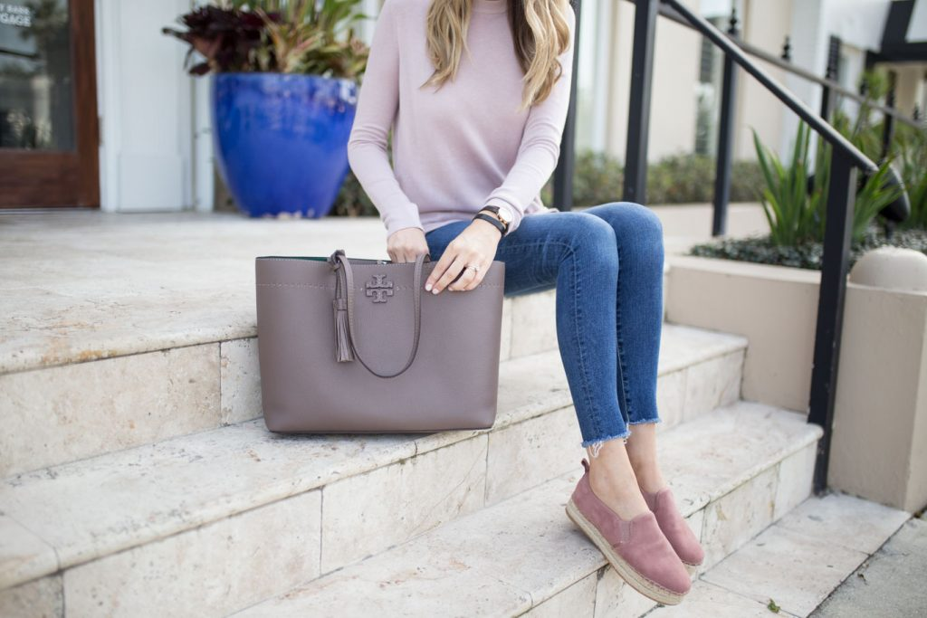 Tote and Espadrilles
