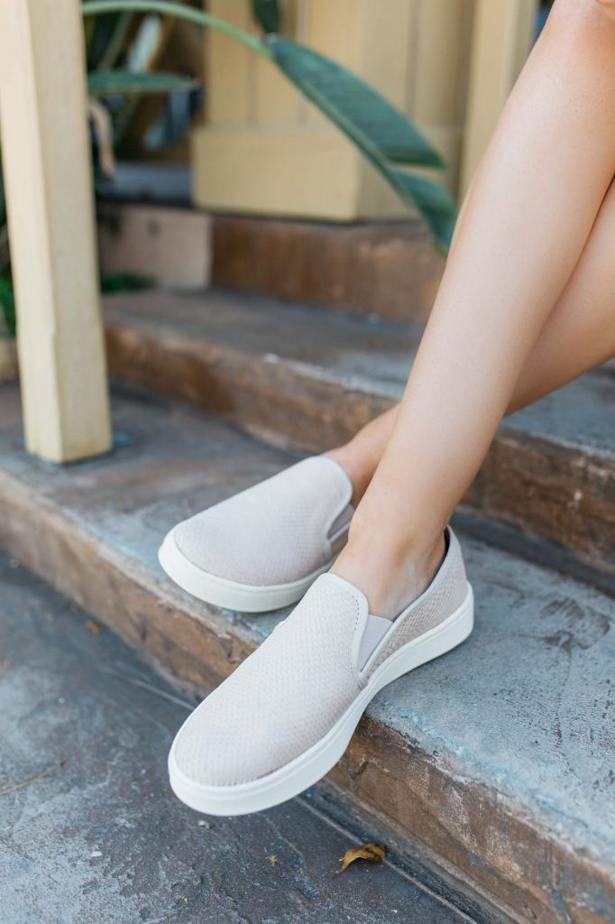 Blush Slip-on Sneakers
