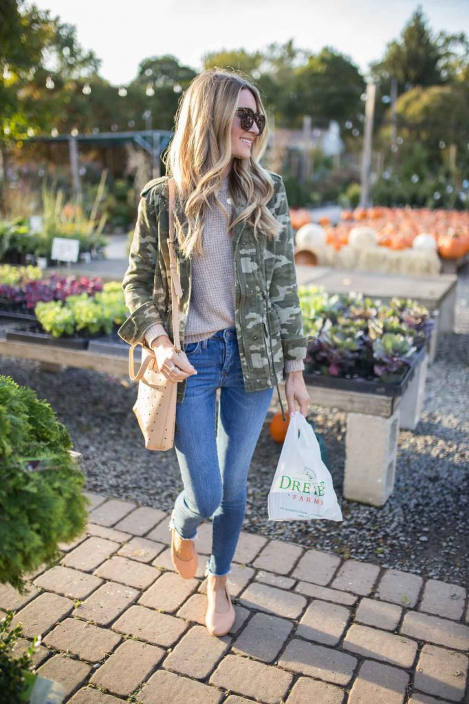 green jacket for fall