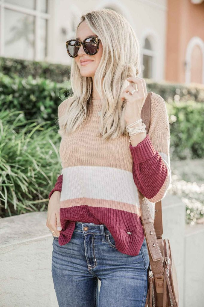 Fall sweater look