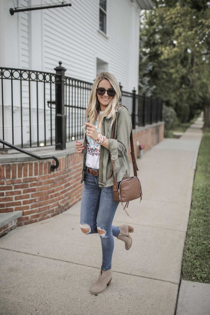 Outfit with Utility Jacket