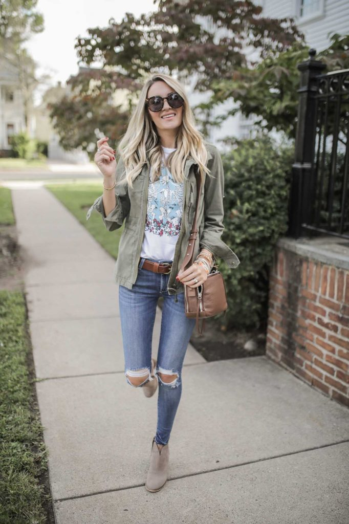 Early Fall Casual Outfit