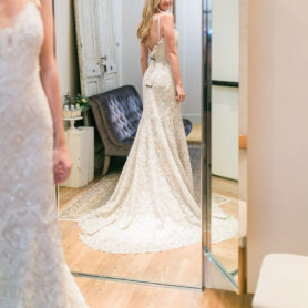 Wedding Dress Shopping With BHLDN